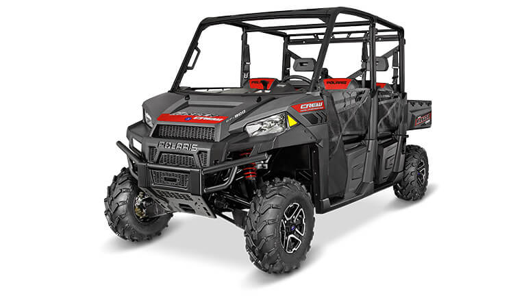 RANGER® CREW 900 EPS SUPER STEEL GRAY
