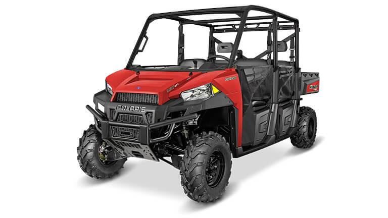RANGER® CREW 900 SOLAR RED