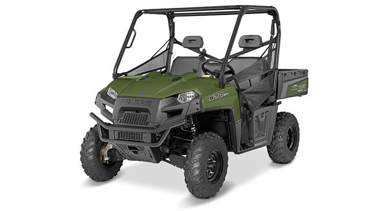 RANGER® 570 FULL-SIZE SAGE GREEN