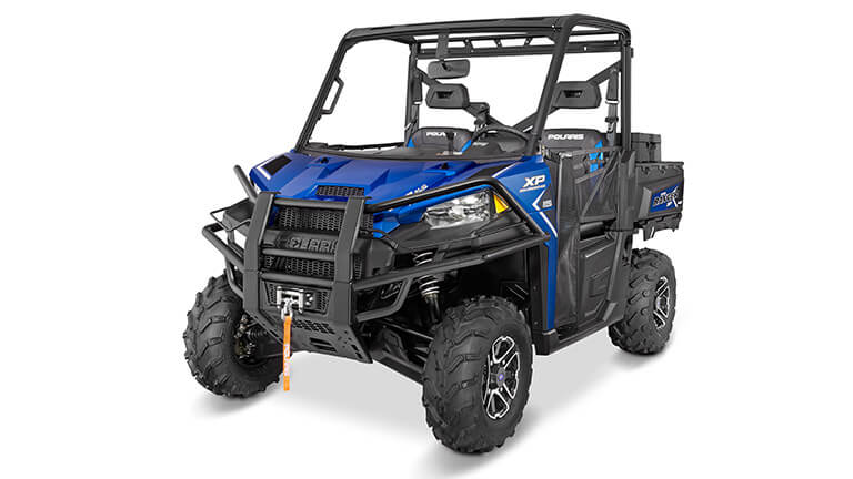 Polaris Ranger Xp 900 >> 2016 Polaris Ranger Xp 900 Eps Trail Edition Blue Fire