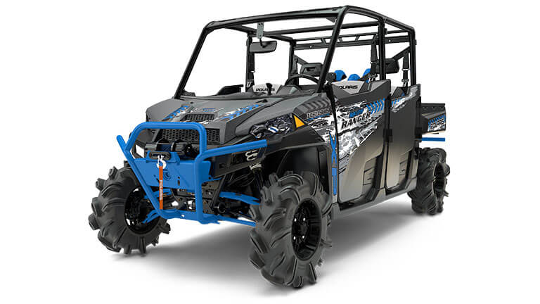 RANGER CREW® XP 1000 EPS HIGH LIFTER EDITION TITANIUM MATTE METALLIC