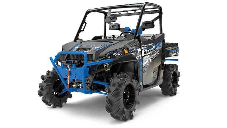 Ranger XP 1000 EPS High Lifter Edition Titanium Matte Metallic