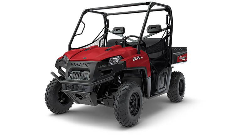 RANGER® 570 FULL-SIZE SOLAR RED