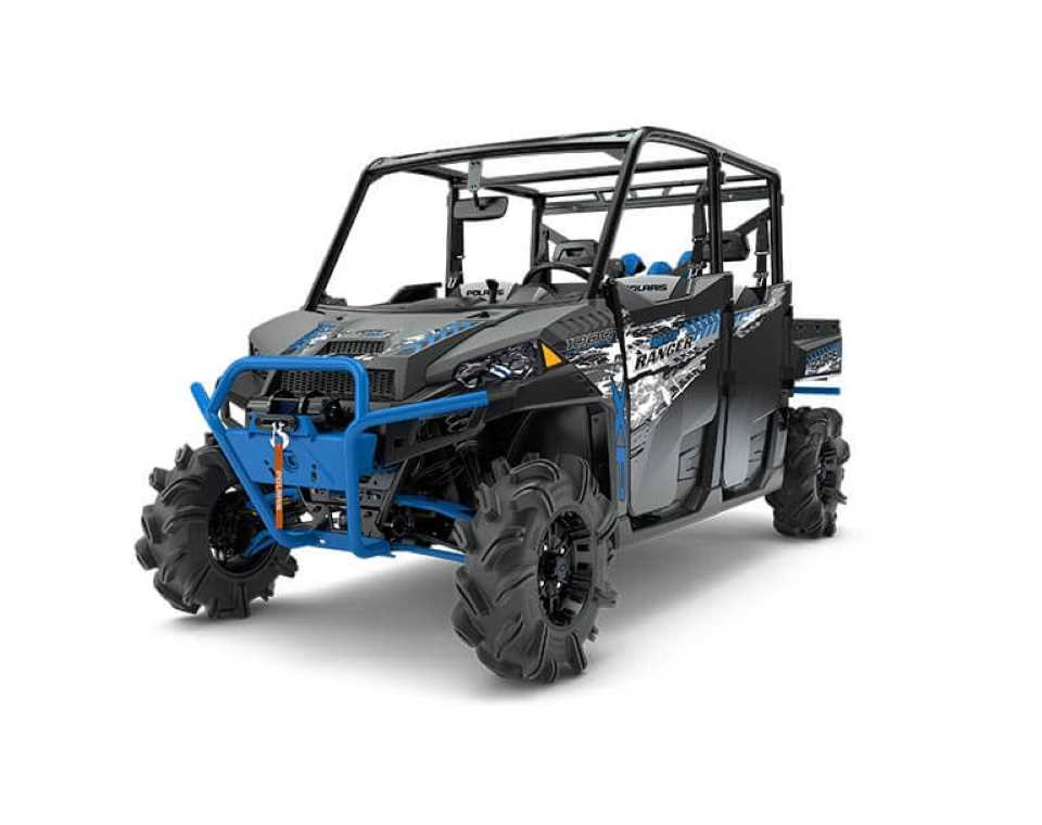 <i>RANGER</i> CREW<sup>®</sup> XP 1000 EPS High Lifter Edition Titanium Matte Metallic