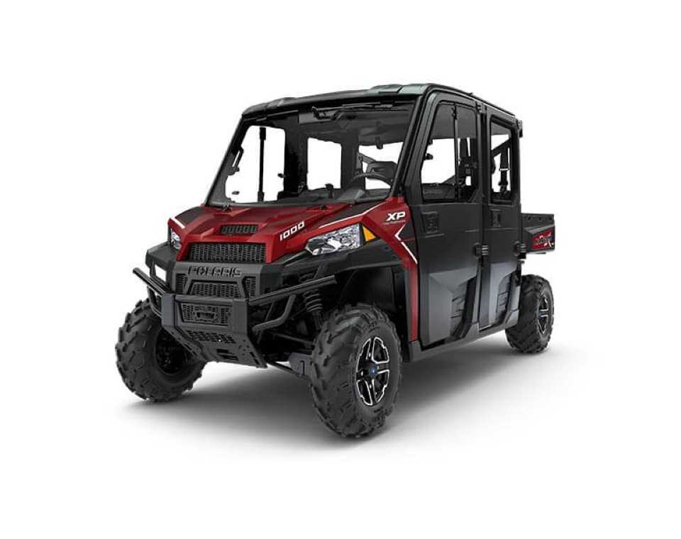 <i>RANGER</i> CREW<sup>®</sup> XP 1000 EPS Northstar HVAC Edition Sunset Red Metallic
