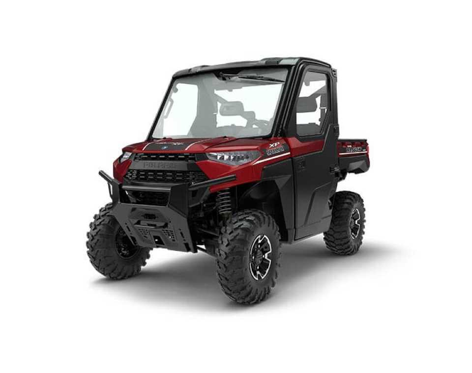 <i>RANGER</i> XP<sup>®</sup> 1000 EPS NorthStar HVAC Edition Sunset Red Metallic