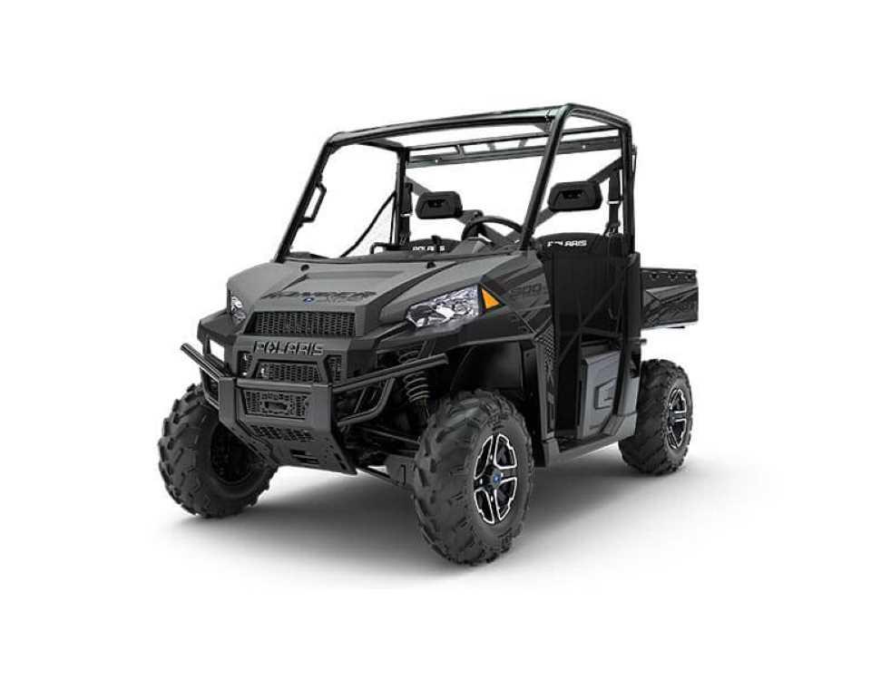 Ranger XP 900 EPS MATTE TITANIUM METALLIC