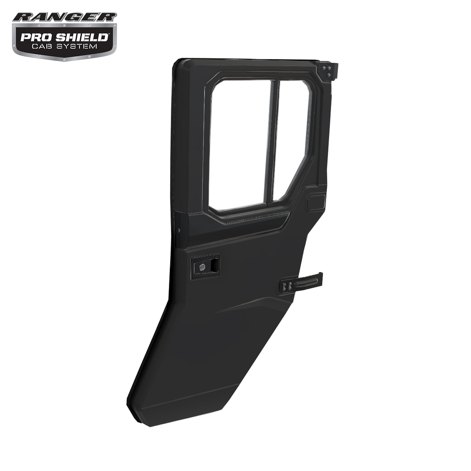 Manual Crank Window Doors - Rear - Poly