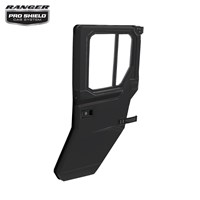 Manual Crank Window Doors - Rear - Poly