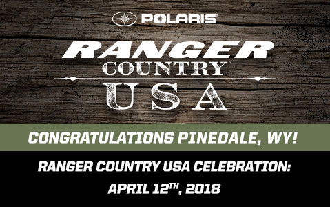 Congratulations to Pinedale, WY! Sign up for the celebration party on April 12th, 2018.