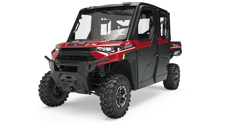 RANGER CREW XP 1000 EPS NORTHSTAR HVAC Edition Sunset Red Metallic