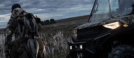 Pic of Ranger 1000 headlights