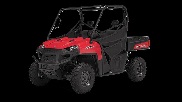 Ranger 570 Full-Size Solar Red