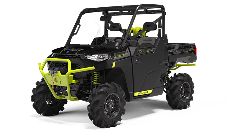 RANGER XP 1000 EPS High Lifter Edition Onyx Black with Lime Squeeze Accents