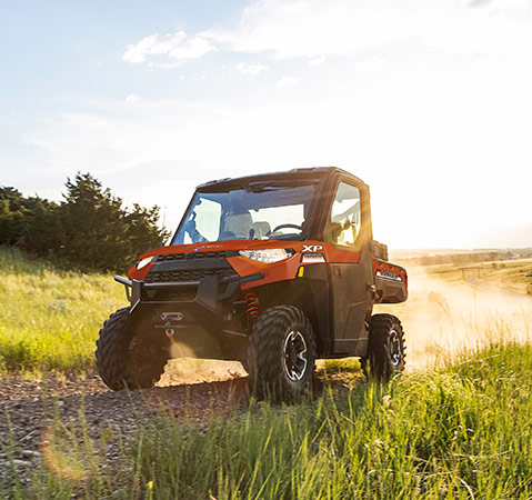 Polaris Ranger off road