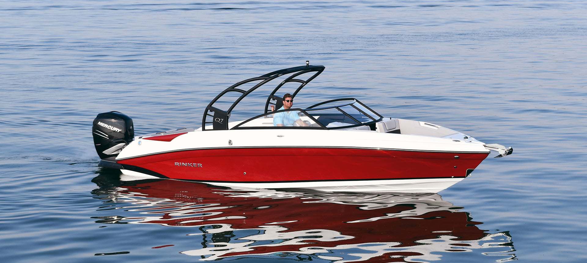 Pic of Q7 Outboard boat