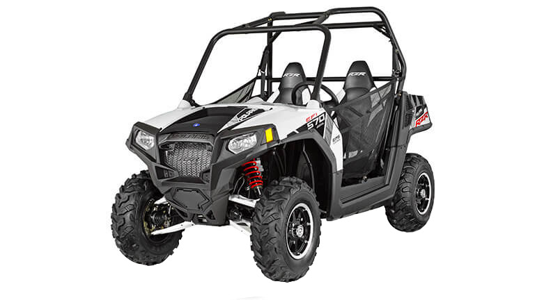 RZR® 570 EPS WHITE LIGHTNING LE