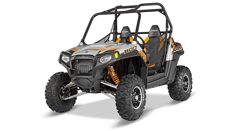 RZR® S 800 FOX LIQUID SILVER LE
