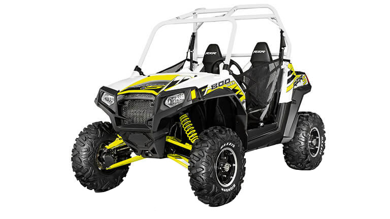 RZR 800 EPS WHITE LIGHTNING LE
