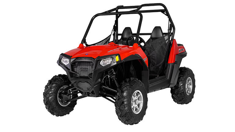 Set of 4 Side By Side Red Shock Covers Polaris Ranger RZR 570 800 RZR 800 S