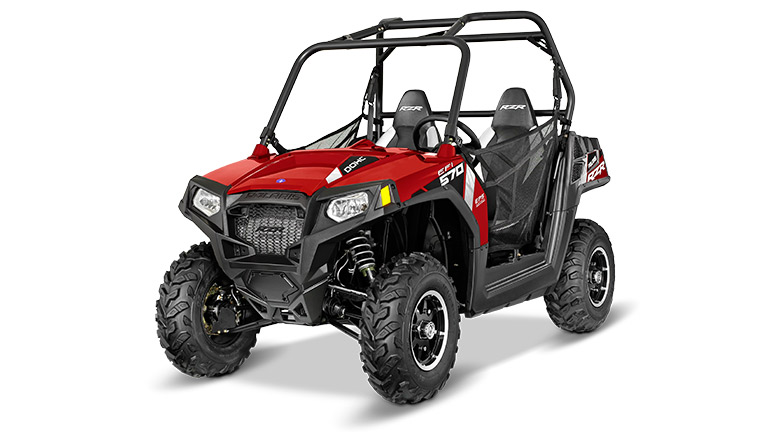 RZR® 570 EPS TRAIL SUNSET RED