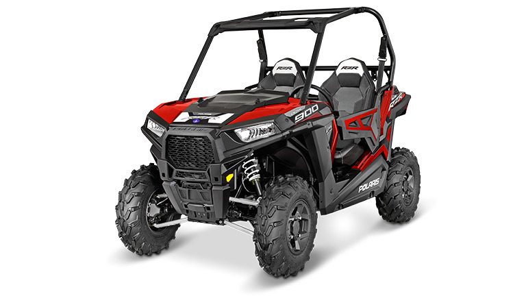 RZR 900 EPS TRAIL SUNSET RED
