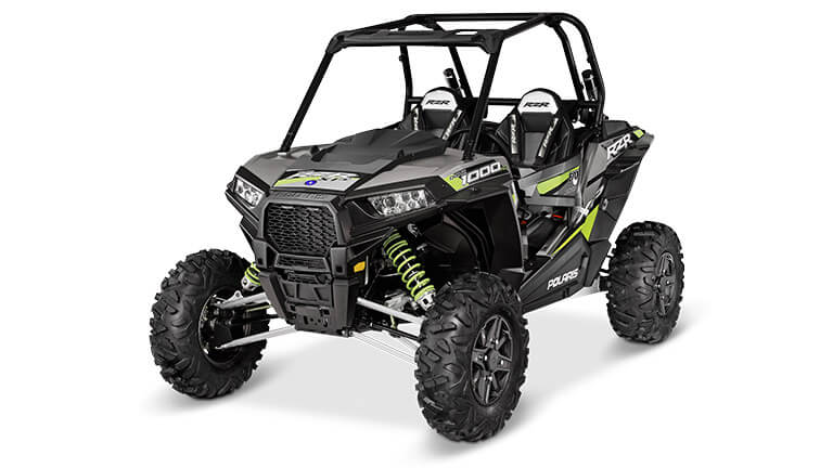 RZR XP® 1000 FOX EDITION TURBO SILVER