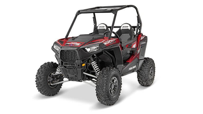 RZR® S 900 EPS MATTE SUNSET RED
