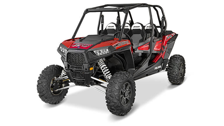 RZR XP® 4 1000 EPS SUNSET RED