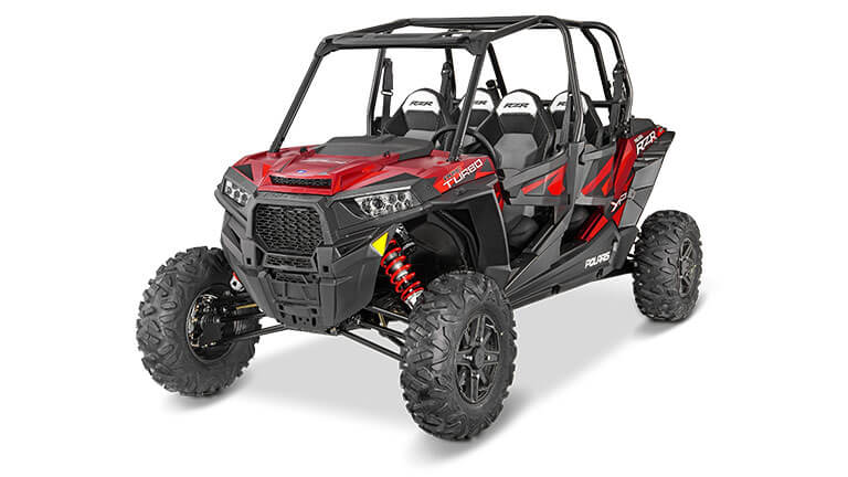 RZR XP® 4 TURBO EPS MATTE SUNSET RED