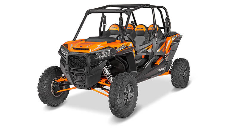 Rzr Xp 4 Turbo Eps Spectra Orange