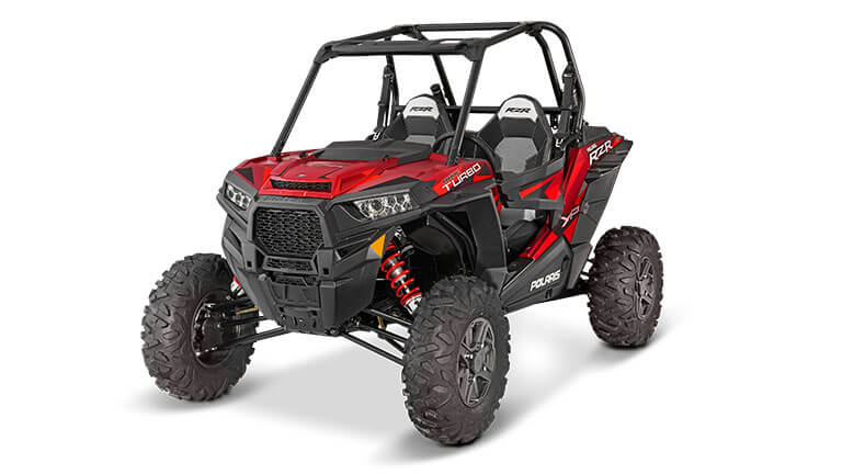 RZR® TURBO EPS MATTE SUNSET RED