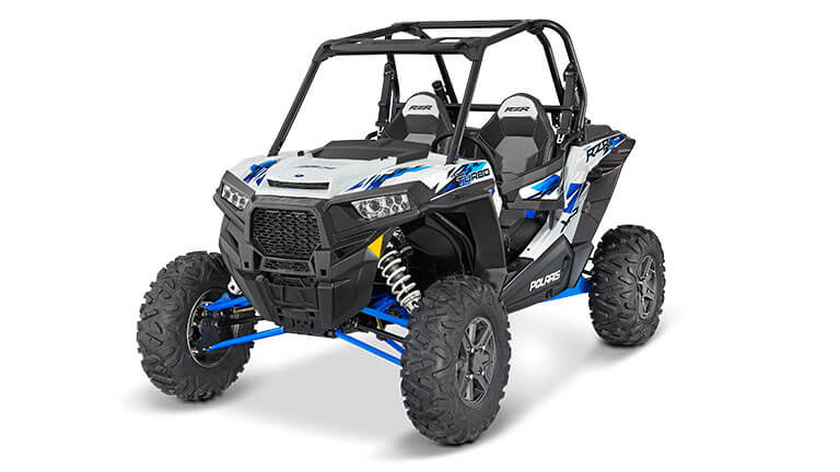 RZR XP® TURBO EPS MATTE WHITE LIGHTNING