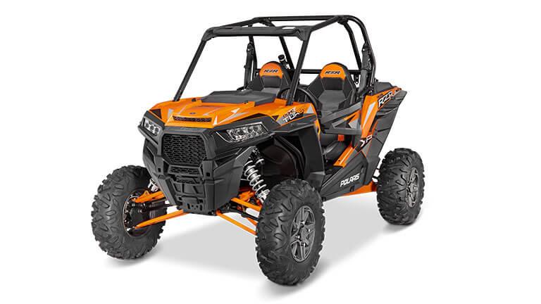 2014-2017  Polaris Razor RZR 1000 XP  XP4 front bumper bar orange