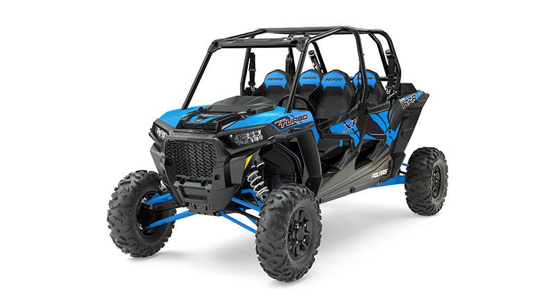 RZR XP® 4 Turbo EPS VELOCITY BLUE