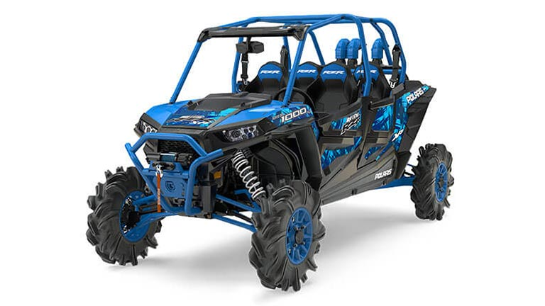 RZR XP® 4 1000 EPS HIGH LIFTER EDITION VELOCITY BLUE