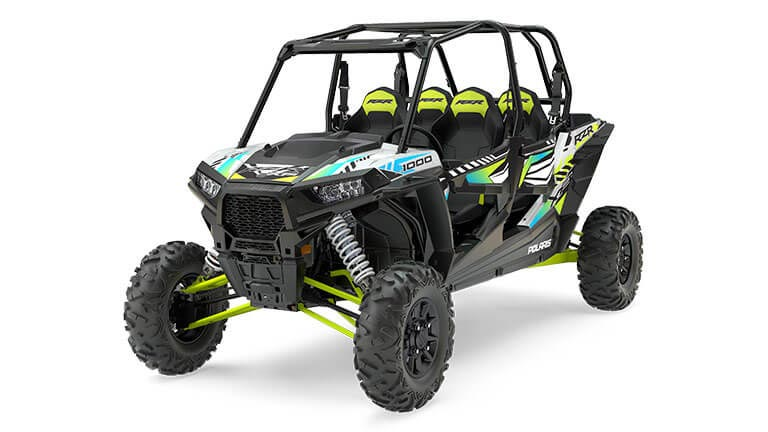 RZR XP® 4 1000 EPS White Lightning