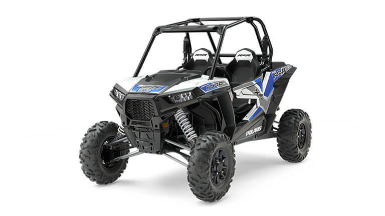 RZR XP® 1000 EPS White Lightning with Reflex Blue