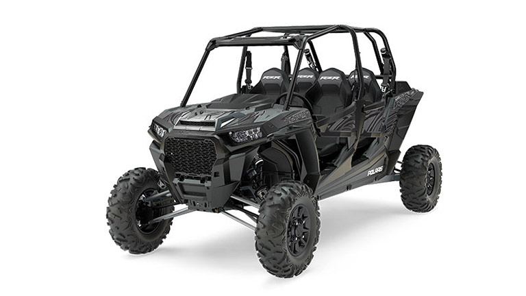 RZR XP® 4 Turbo EPS Titanium Matte Metallic