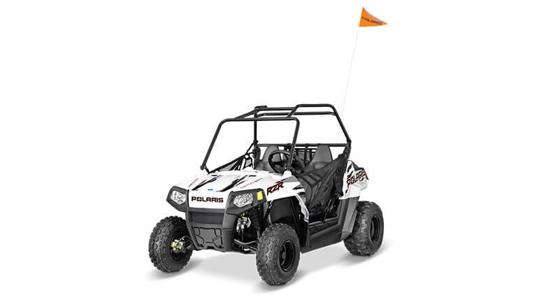 RZR 170 EFI Bright White/Indy Red