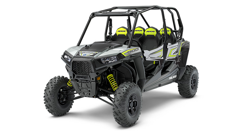 RZR® S4 900 EPS GHOST GRAY