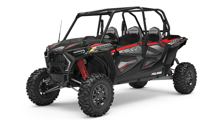 RZR XP 4 1000 Ride Command  Black Pearl