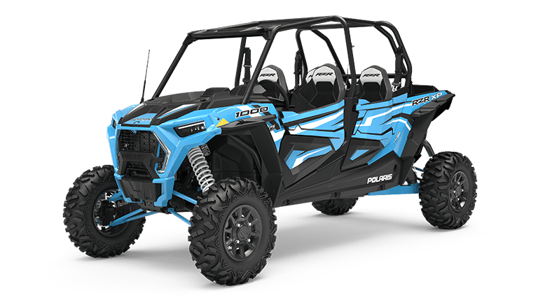 RZR XP 4 1000 Ride Command Sky Blue