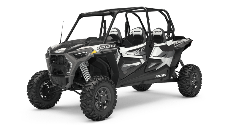 RZR XP 4 1000 Ride Command White Pearl