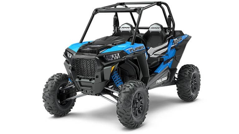 RZR XP Turbo Velocity Blue