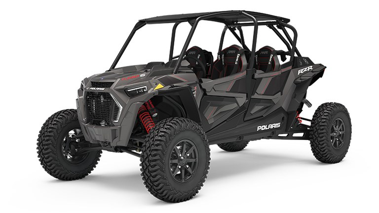 RZR XP 4 Turbo S Titanium Metallic