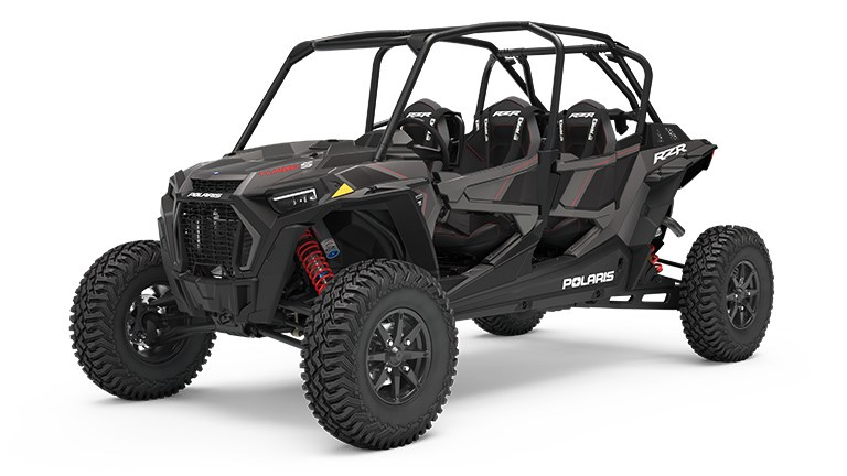 RZR XP 4 Turbo S Velocity Titanium Metallic