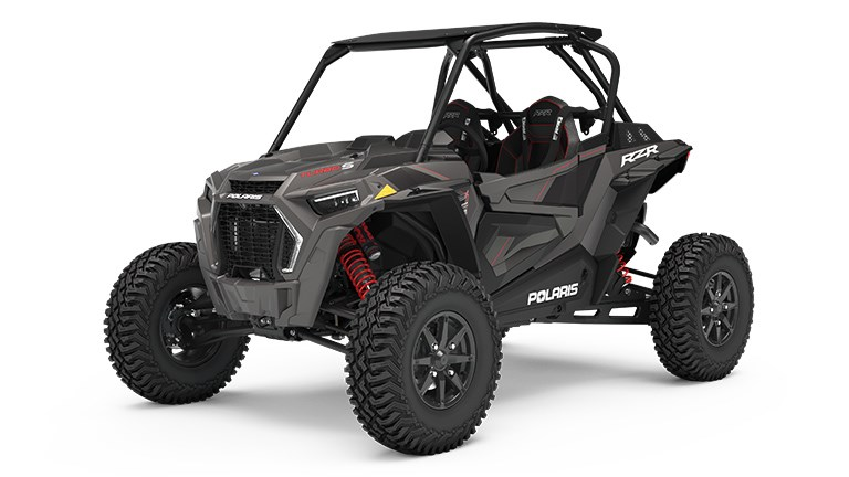 RZR XP Turbo S Titanium Metallic