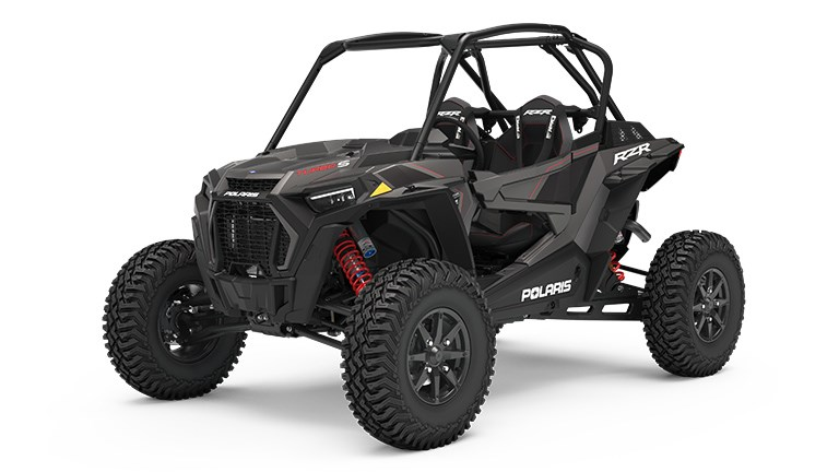 RZR XP Turbo S Velocity Titanium Metallic