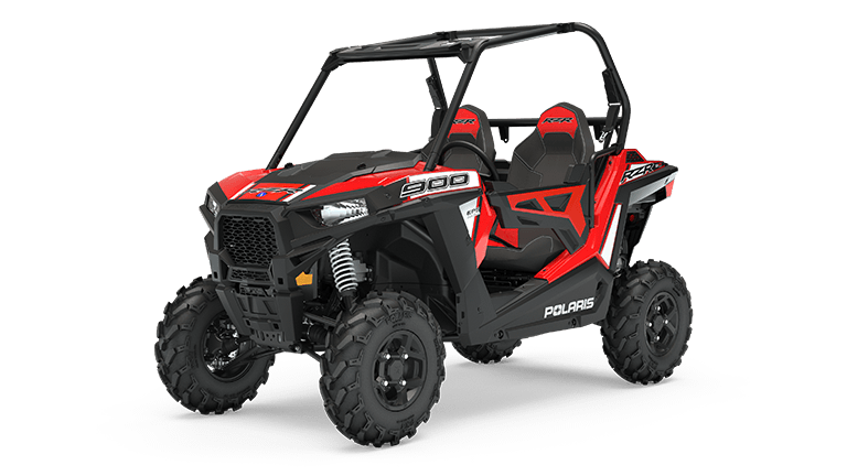RZR 900 EPS Indy Red